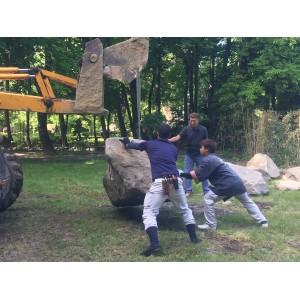 Bulding the Drygarden - Karesensui