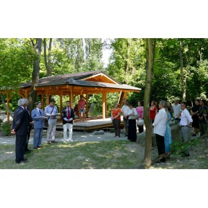 Openning ceremony of the drygarden